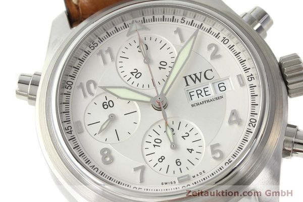 Used luxury watch IWC Doppelchronograph chronograph steel automatic Kal. 79230 Ref. 3713  | 150318 02