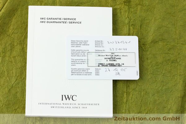 Used luxury watch IWC Doppelchronograph chronograph steel automatic Kal. 79230 Ref. 3713  | 150318 08