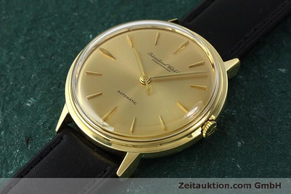 Used luxury watch IWC Portofino 18 ct gold automatic Kal. 853  | 150319 01