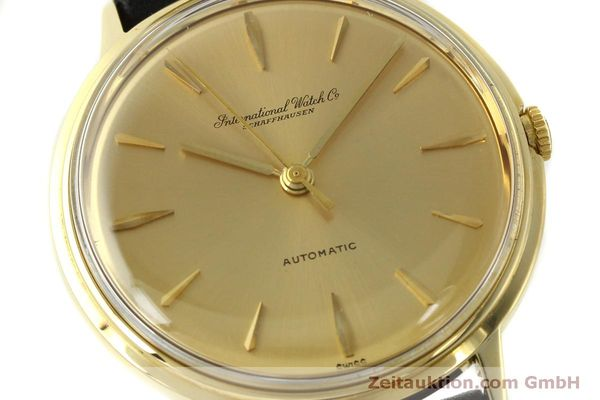 Used luxury watch IWC Portofino 18 ct gold automatic Kal. 853  | 150319 02