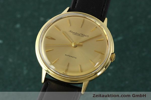 Used luxury watch IWC Portofino 18 ct gold automatic Kal. 853  | 150319 04