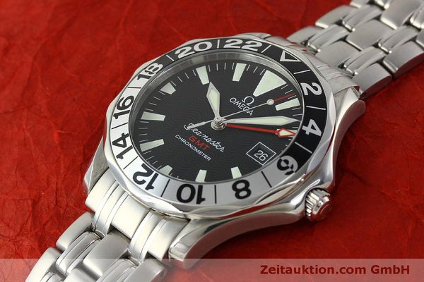 Used luxury watch Omega Seamaster steel automatic Kal. 1128  | 150320 01