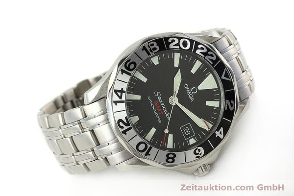 Used luxury watch Omega Seamaster steel automatic Kal. 1128  | 150320 03