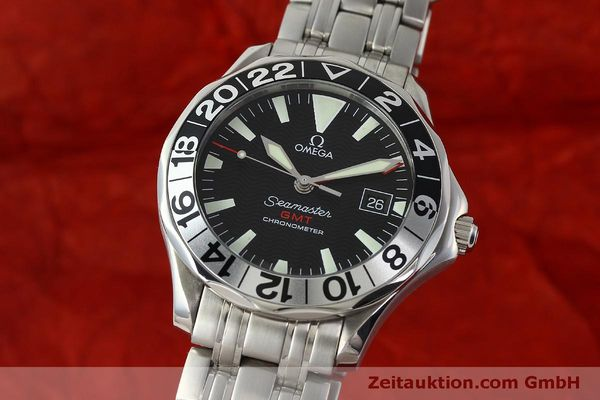 Used luxury watch Omega Seamaster steel automatic Kal. 1128  | 150320 04