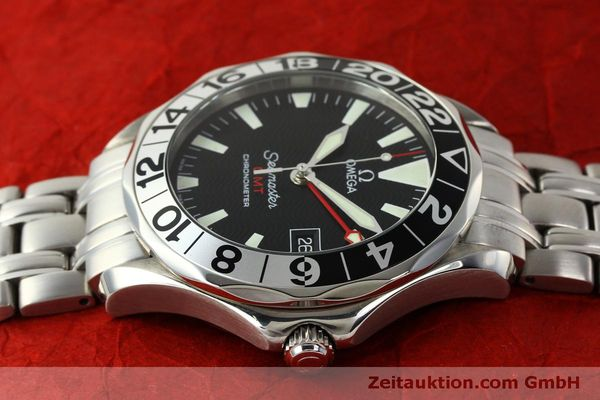 Used luxury watch Omega Seamaster steel automatic Kal. 1128  | 150320 05
