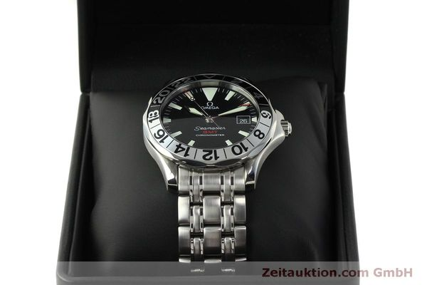 Used luxury watch Omega Seamaster steel automatic Kal. 1128  | 150320 07