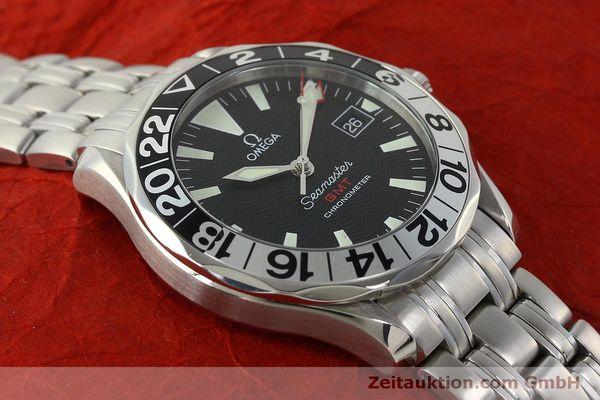 Used luxury watch Omega Seamaster steel automatic Kal. 1128  | 150320 13