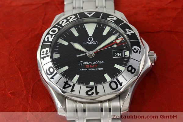 Used luxury watch Omega Seamaster steel automatic Kal. 1128  | 150320 14