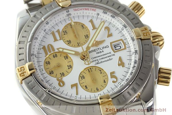 Used luxury watch Breitling Evolution chronograph steel / gold automatic Kal. B13 ETA 7750 Ref. B13356  | 150322 02