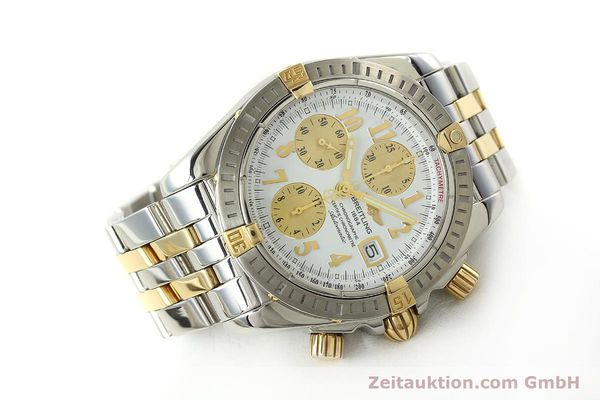 Used luxury watch Breitling Evolution chronograph steel / gold automatic Kal. B13 ETA 7750 Ref. B13356  | 150322 03