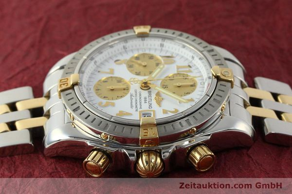 Used luxury watch Breitling Evolution chronograph steel / gold automatic Kal. B13 ETA 7750 Ref. B13356  | 150322 05