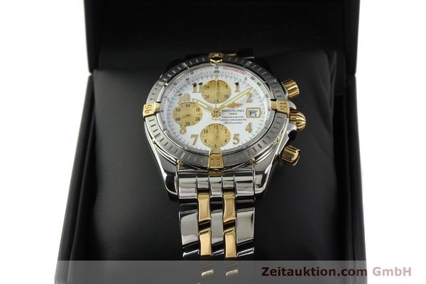 Used luxury watch Breitling Evolution chronograph steel / gold automatic Kal. B13 ETA 7750 Ref. B13356  | 150322 07