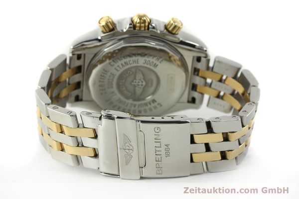 Used luxury watch Breitling Evolution chronograph steel / gold automatic Kal. B13 ETA 7750 Ref. B13356  | 150322 11