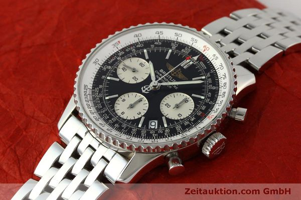Used luxury watch Breitling Navitimer chronograph steel automatic Kal. ETA 7750 Ref. A23322  | 150323 01