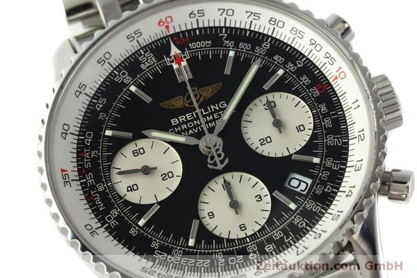 Used luxury watch Breitling Navitimer chronograph steel automatic Kal. ETA 7750 Ref. A23322  | 150323 02