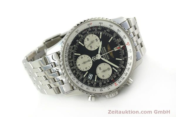 Used luxury watch Breitling Navitimer chronograph steel automatic Kal. ETA 7750 Ref. A23322  | 150323 03