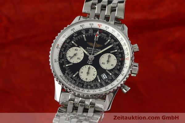 Used luxury watch Breitling Navitimer chronograph steel automatic Kal. ETA 7750 Ref. A23322  | 150323 04