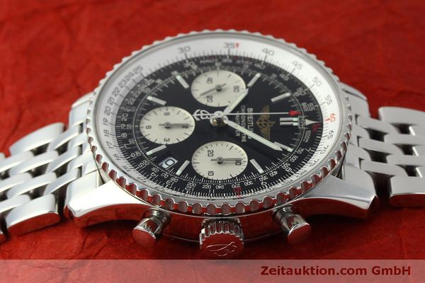 Used luxury watch Breitling Navitimer chronograph steel automatic Kal. ETA 7750 Ref. A23322  | 150323 05
