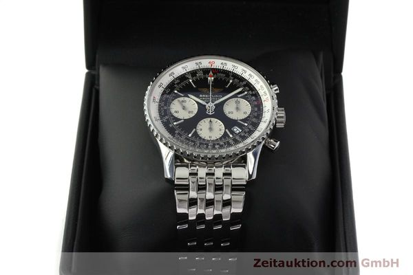 Used luxury watch Breitling Navitimer chronograph steel automatic Kal. ETA 7750 Ref. A23322  | 150323 07