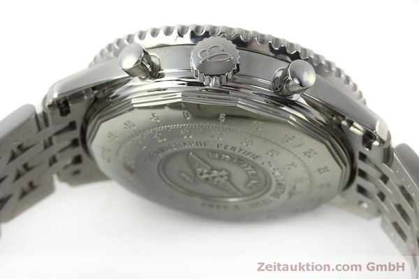 Used luxury watch Breitling Navitimer chronograph steel automatic Kal. ETA 7750 Ref. A23322  | 150323 08