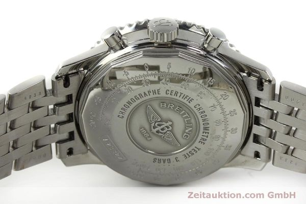 Used luxury watch Breitling Navitimer chronograph steel automatic Kal. ETA 7750 Ref. A23322  | 150323 09