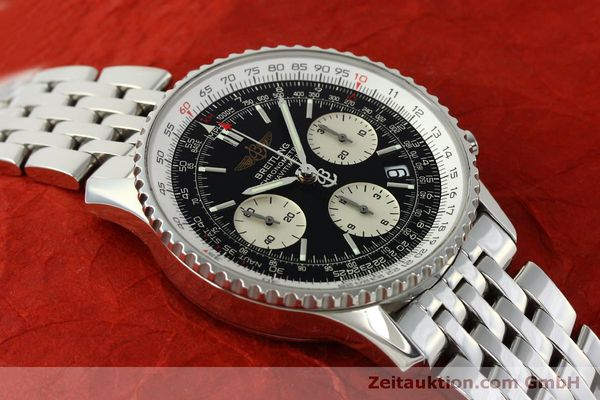 Used luxury watch Breitling Navitimer chronograph steel automatic Kal. ETA 7750 Ref. A23322  | 150323 14