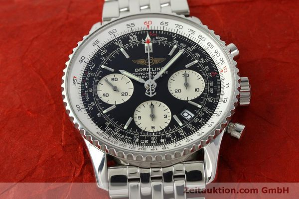 Used luxury watch Breitling Navitimer chronograph steel automatic Kal. ETA 7750 Ref. A23322  | 150323 15