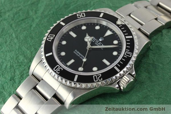 Used luxury watch Rolex Submariner steel automatic Kal. 3130 Ref. 14060M  | 150324 01