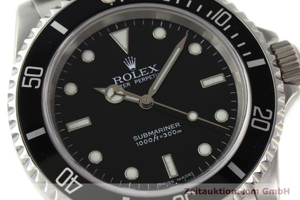 Used luxury watch Rolex Submariner steel automatic Kal. 3130 Ref. 14060M  | 150324 02