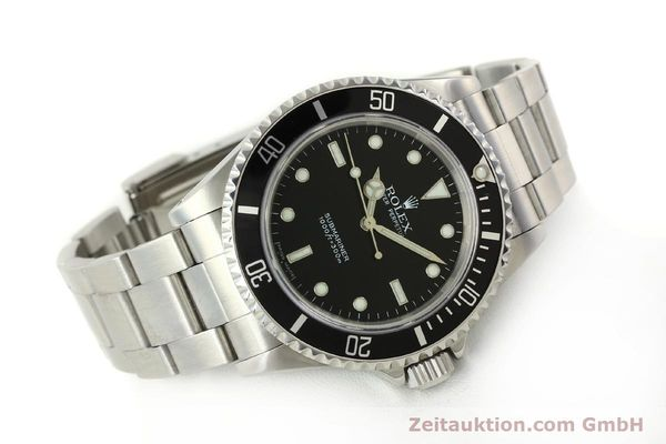 Used luxury watch Rolex Submariner steel automatic Kal. 3130 Ref. 14060M  | 150324 03
