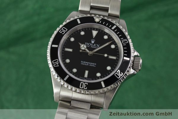 Used luxury watch Rolex Submariner steel automatic Kal. 3130 Ref. 14060M  | 150324 04
