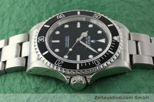 Used luxury watch Rolex Submariner steel automatic Kal. 3130 Ref. 14060M  | 150324 05