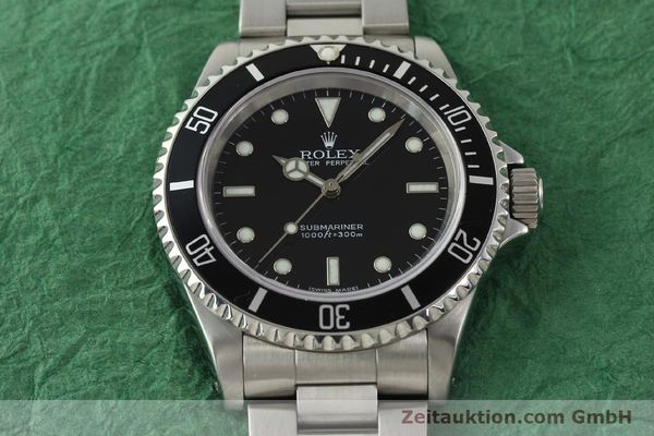 Used luxury watch Rolex Submariner steel automatic Kal. 3130 Ref. 14060M  | 150324 16