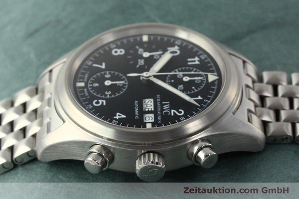Used luxury watch IWC Fliegerchronograph chronograph steel automatic Kal. 7922 Ref. 3706  | 150325 05