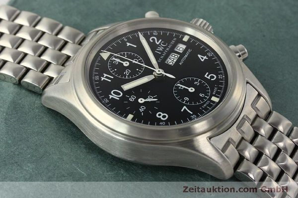 Used luxury watch IWC Fliegerchronograph chronograph steel automatic Kal. 7922 Ref. 3706  | 150325 15