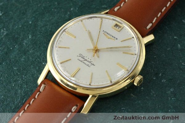 Used luxury watch Longines Flagship 18 ct gold automatic Kal. 341 VINTAGE  | 150327 01