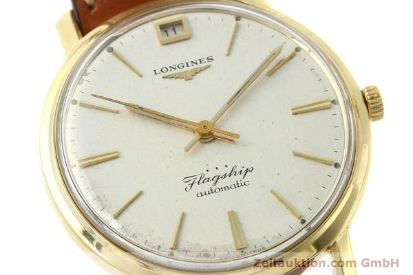 Used luxury watch Longines Flagship 18 ct gold automatic Kal. 341 VINTAGE  | 150327 02