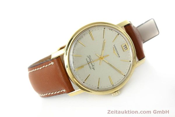 Used luxury watch Longines Flagship 18 ct gold automatic Kal. 341 VINTAGE  | 150327 03