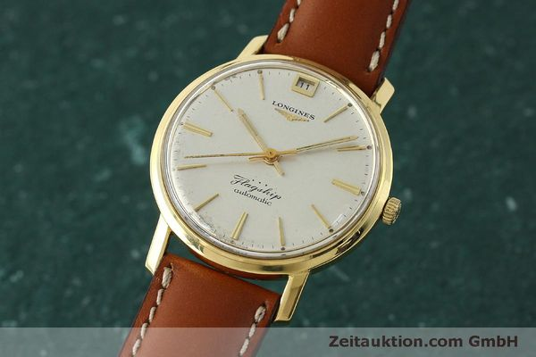 Used luxury watch Longines Flagship 18 ct gold automatic Kal. 341 VINTAGE  | 150327 04