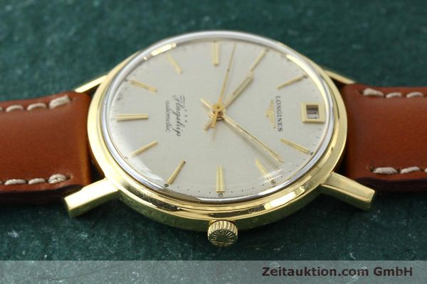 Used luxury watch Longines Flagship 18 ct gold automatic Kal. 341 VINTAGE  | 150327 05