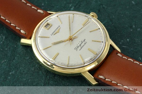 Used luxury watch Longines Flagship 18 ct gold automatic Kal. 341 VINTAGE  | 150327 13