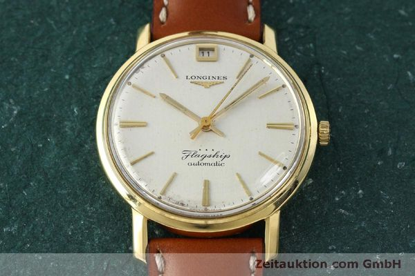 Used luxury watch Longines Flagship 18 ct gold automatic Kal. 341 VINTAGE  | 150327 14