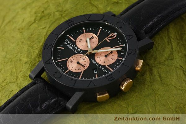 Used luxury watch Bvlgari Porto Cervo chronograph others quartz Kal. ETA 251.471 Ref. BB38CLCH  | 150328 01