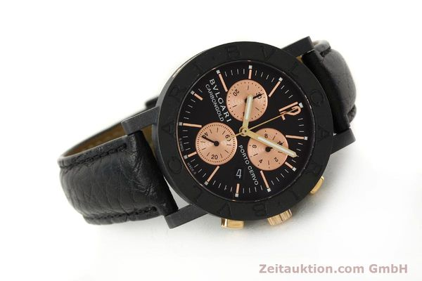 Used luxury watch Bvlgari Porto Cervo chronograph others quartz Kal. ETA 251.471 Ref. BB38CLCH  | 150328 03