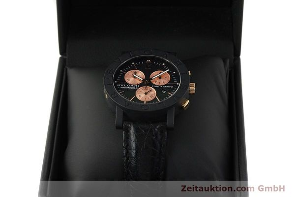 Used luxury watch Bvlgari Porto Cervo chronograph others quartz Kal. ETA 251.471 Ref. BB38CLCH  | 150328 07