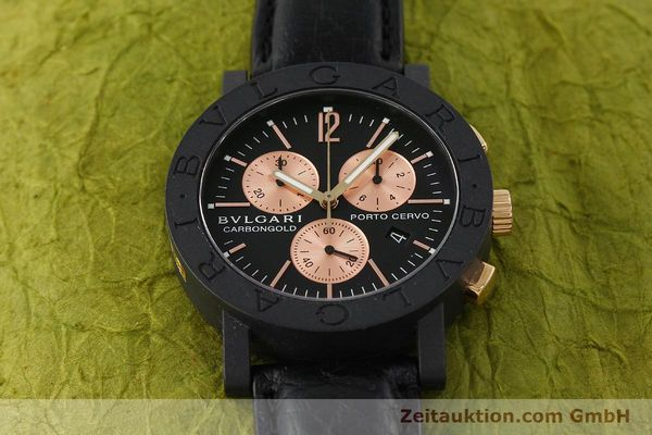 Used luxury watch Bvlgari Porto Cervo chronograph others quartz Kal. ETA 251.471 Ref. BB38CLCH  | 150328 13