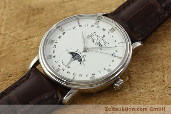 Used luxury watch Blancpain Villeret steel automatic Kal. 6763 Ref. 6263  | 150329 01