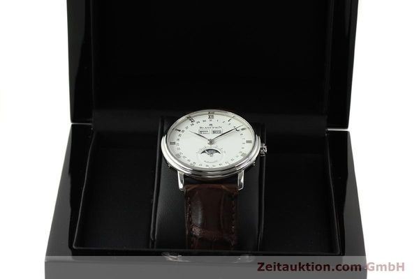 Used luxury watch Blancpain Villeret steel automatic Kal. 6763 Ref. 6263  | 150329 07
