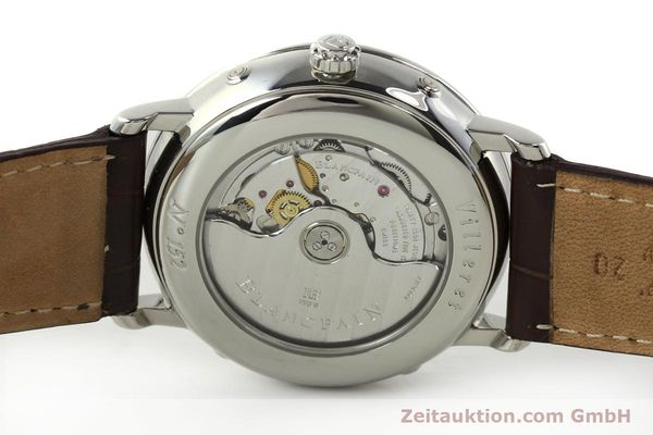 Used luxury watch Blancpain Villeret steel automatic Kal. 6763 Ref. 6263  | 150329 09