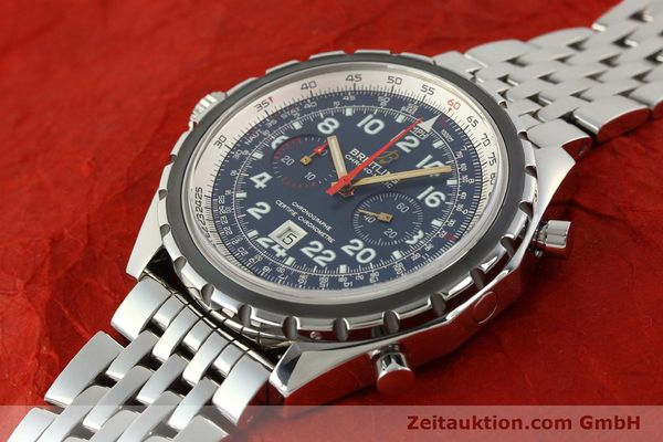Used luxury watch Breitling Chrono-Matic chronograph steel automatic Kal. B22 ETA 2892A2 Ref. A22360 LIMITED EDITION | 150330 01